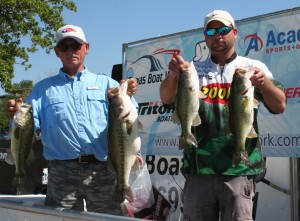 Jason Stafford and John Ratliff Win the Faith Angler Network Lake LBJ event with 18.65 pounds