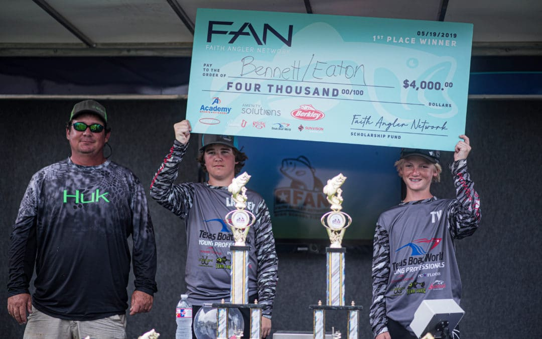 FAN 2019/20 Championship Tournament Presented by Academy Sports + Outdoors -Abu Garcia – Berkley and Kistler Rods September 13, 2020 on Lake Buchanan
