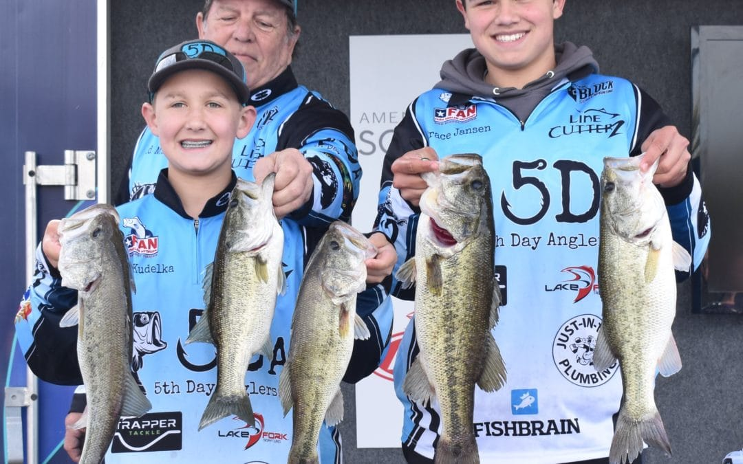 Riley Kudelka and Trace Jansen with 5th Day Anglers bring home their first WIN
