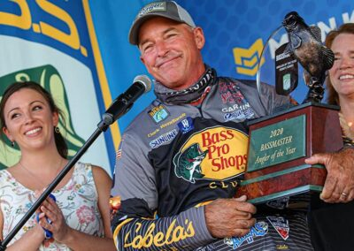 2020 Bassmaster Angler of The Year Clark Wendlandt